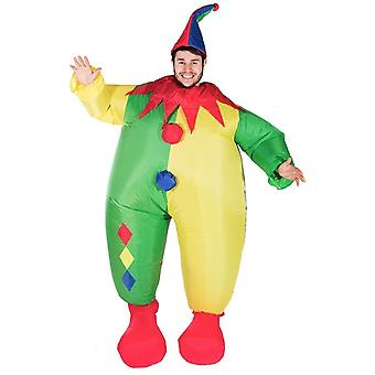 Inflatable Clown Halloween Costume Trick Or Treat One Size Fits All Adults