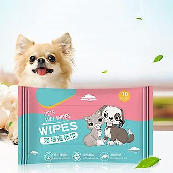 Pet Cleaning Paper Towels, Tear Stain Remover Wet Wipes