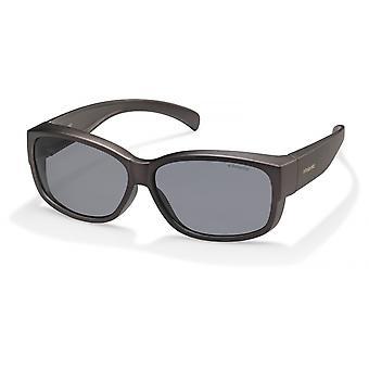 النظارات الشمسية Unisex 9000/Sqrz/AH wayfarer anthracite / رمادي
