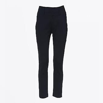 HIGH  - Vital - High Waisted Pants - Navy