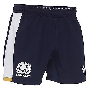 Macron Scotland Rugby Mens Alternate Replica Shorts | Marine | 2020/21