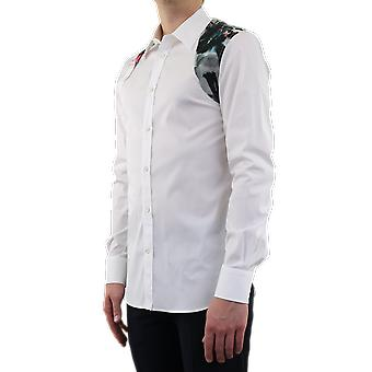Alexander McQueen Harness Shirt Fashion SS White 608087QON449000 Top