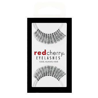Red Cherry False Eyelashes - #510 Juliet - Perfect Curl Handmade Lashes
