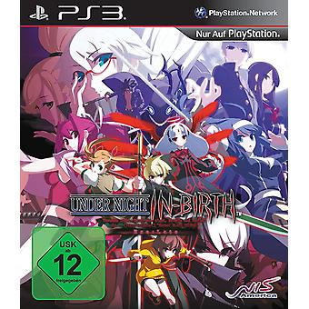 Under Night In-Birth EXE Late PS3 (German Box - English In Game)