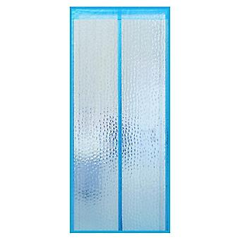 Air Conditioner Room/kitchen Magnetic Screen Door Thermal Insulated Mesh