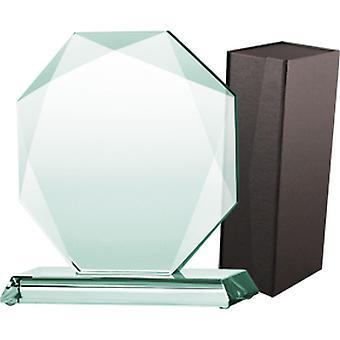 Glastrofæ med kuffert