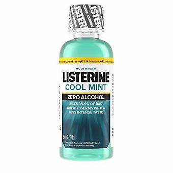 Listerine Mouthwash Clean Mint Flavor, 3.2 Oz