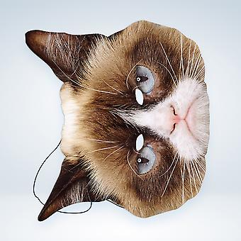 Mask-arade Grumpy Cat Party Face Mask