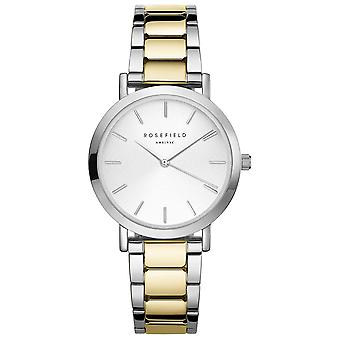 Rosefield the tribeca Watch for Women Analog Quartz with Stainless Steel Bracelet TWSSG-T63