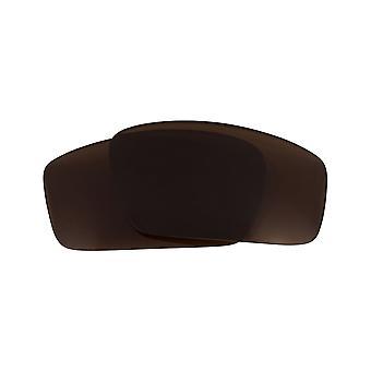 عدسات استبدال ل Oakley ساحة الأسلاك 2006 النظارات الشمسية المضادة للخدش براون
