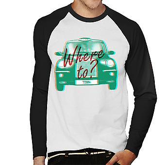 London Taxi Company TX4 Var till Men's Baseball Långärmad T-shirt