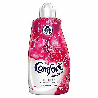 Comfort Creations Fabric Conditioner Strawberry & Lily 55 Wash