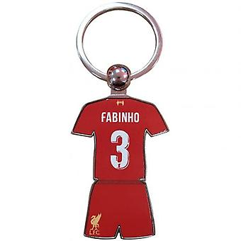 Liverpool Player Keyring Fabinho