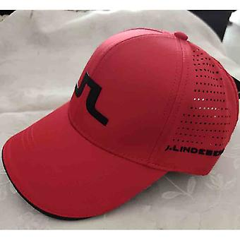Men & Women Adjustable Outdoor Sports Golf Hat, Tennis Sunshade Breathable Cap