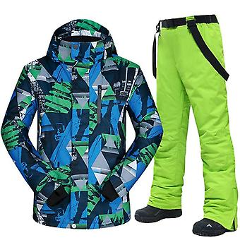 Ski Suit Men Winter Warm Windproof/waterproof Outdoor Sports Snow Jackets And