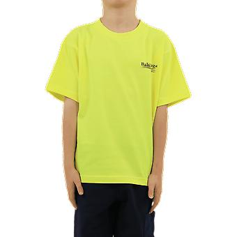Balenciaga S/S T-Shirt Yellow 556155TIVB57110 Top