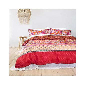 Bambury Quilt Cover Queen Set Java