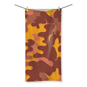 Camofludge 3 beach towel