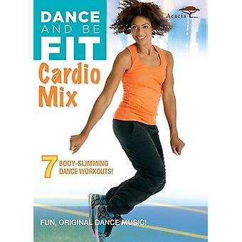 Dance & Be Fit Cardio Mix [DVD] USA import