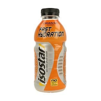 Fast Hydration - Orange PET Bottle 500 ml