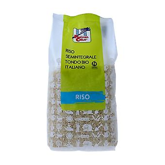 Italian round semi-whole rice 1 kg