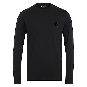 MA.Strum Icon Long Sleeve T-Shirt - Black