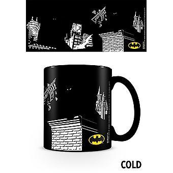 Batman Shadows Heat Changing Mug