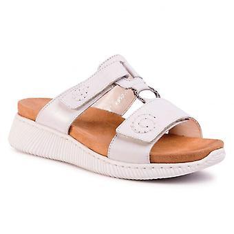 Rieker hartweiss sandali donne bianco 001