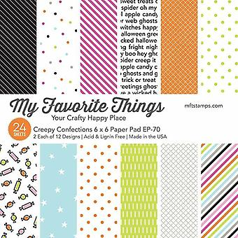 My Favorite Things Creepy Confections 6x6 Inch Paper Pad