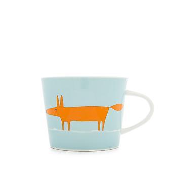 Scion Mr Fox Duck Egg and Orange Mini Mug
