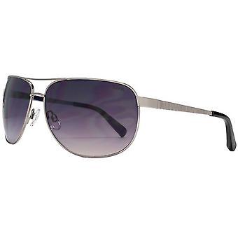Suuna Grooved Temple Sunglasses - Gunmetal