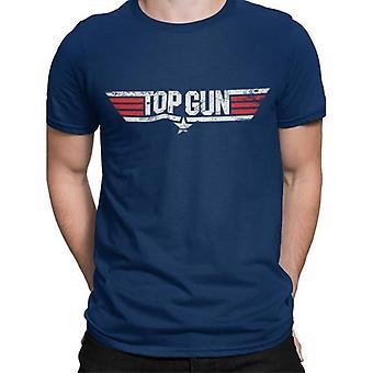 Top Gun Unisex Adult Logo T-Shirt