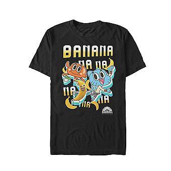 Upea maailma Gumball Bananana t-paita