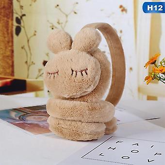 Kopfhörer Mode Faux Pelz süße kleine Maus Kind Earmuffs Winter Zubehör