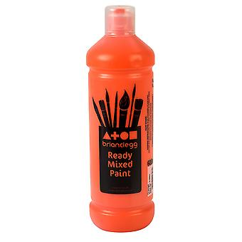Brian Clegg Ready-mix Paint 600ml - Orange