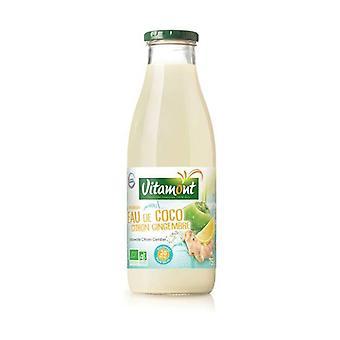 Lemon ginger coconut water 750 ml