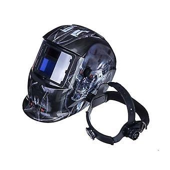 Automatisk hjelm elektrisk svejsemaske Auto Darkeningtig Mig Svejselinse