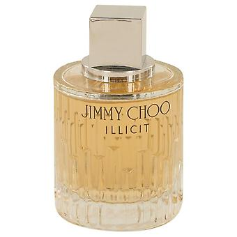 Jimmy Choo olaglig Eau De Parfum Spray (testare) av Jimmy Choo 3.3 oz Eau De Parfum Spray