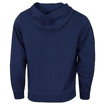 Lacoste Mens 2021 SH0532 Vintage Styling Geribbelde Manchetten Hooded Sweatshirt Hoody