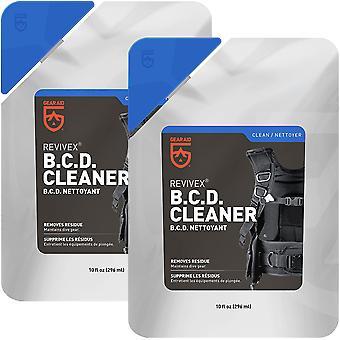 Gear Aid Revivex 10 oz. B.C.D. Cleaner ja Hoitoaine - 2-Pakkaus