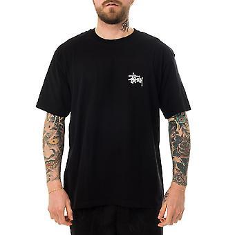 Men's t-shirt stussy basic stussy tee black 1904649.black