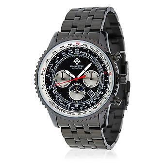 Louis Cottier AIRFLY Automatic Watch 44 mm Black black box - Black bracelet - HB3231C1BM2
