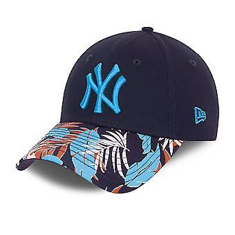 New Era 9Forty Enfants Cap - FLORAL New York Yankees navy