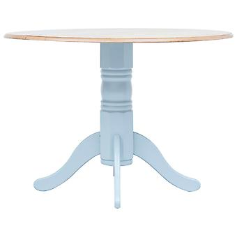 vidaXL Dining table Grey and Brown 106 cm Rubber wood Solid