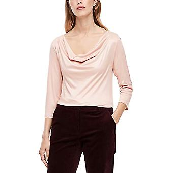 s.Oliver BLACK LABEL 150.10.009.12.130.2043032 T-Shirt, Pink (Dusty Rose), 52 Woman