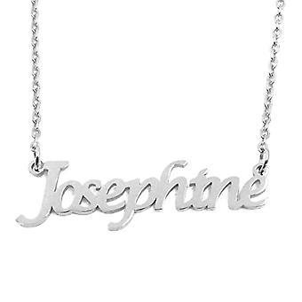 "L Josephine Custom Navn Clay Justerbar Chain 16 ""19"""