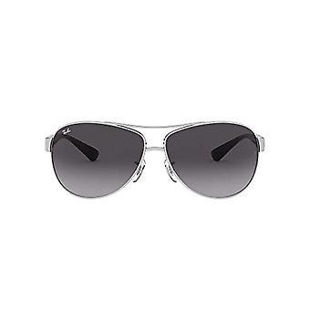 نظارات شمسية فضية راي بان