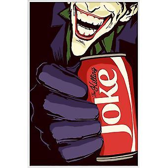 Juniqe Print - Killing Joke - Poster pop art in rosso & nero