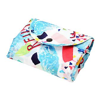 Dexam Reuse Reduce Recycle RPET Foldable Shopping Bag