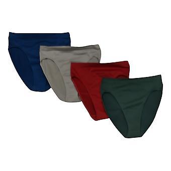 Rhonda Shear Mutandine 4-pack Originale Ahh Panty Verde Blu Grigio Rosso 722828